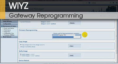 WiYZ™ | Gateway Reprogramming v1.2