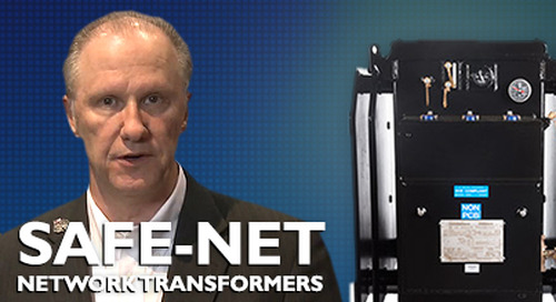 Transformers, the safest option for secondary network systems