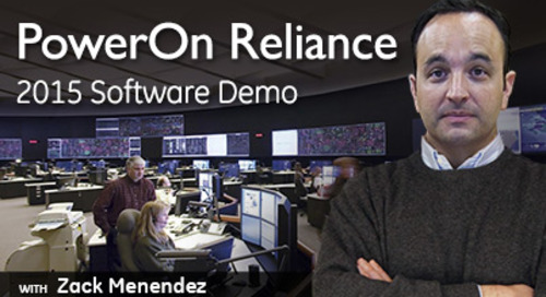 PowerOn Reliance 2015 Software Demo: Powerful Visualization Tools