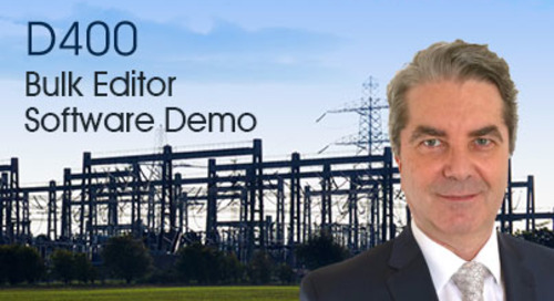 D400 Bulk Editor Software Demo