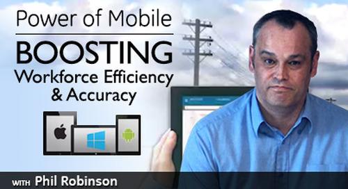 Power of Mobile: Boosting Workforce Efficiency & Accuracy