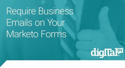 Require Business Emails on Your Marketo Forms