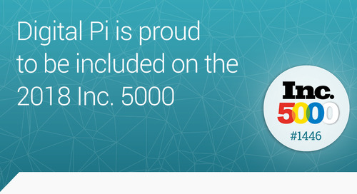 Digital Pi Named to the 2018 Inc. 5000 List