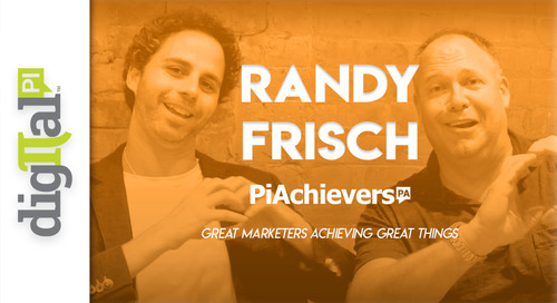 Randy Rocks! Our Latest PiAchiever