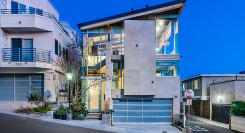 Manhattan Beach Sand Section Home That's Bold By Nature