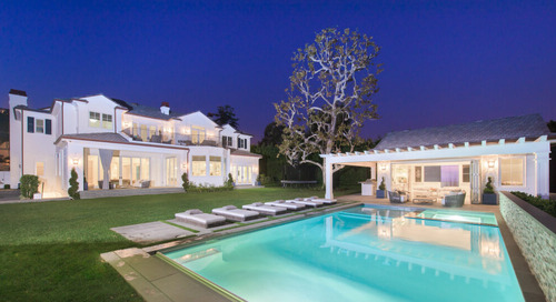 White Brick Traditional Home in Pacific Palisades Asks $18M [Off Market]