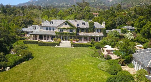 Epic Proportions at Former Rob Lowe and Sheryl Berkoff Estate in Montecito