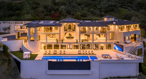$100 Million Spanish Villa—Your Own Personal Resort Brought to Market by Sally Forster Jones