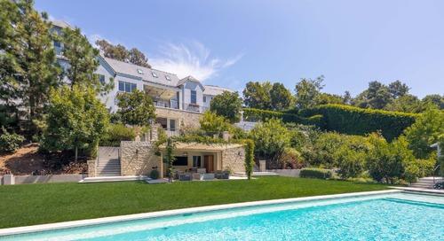 Steve Frankel & Drew Fenton Have a Legacy Beverly Hills Compound