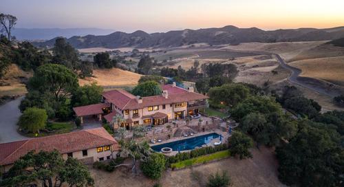 Aaron Kirman & Neyshia Go Show off Historic Santa Ynez Property