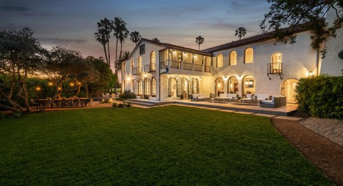 Architectural Stunner in Hancock Park & A Rare Hollywood Sign View Estate