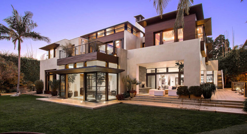 Matt Damon's SoCal Dreamscape 1401 San Remo Drive in Pacific Palisades