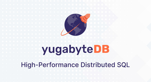 Building a Spring Boot application on YugabyteDB