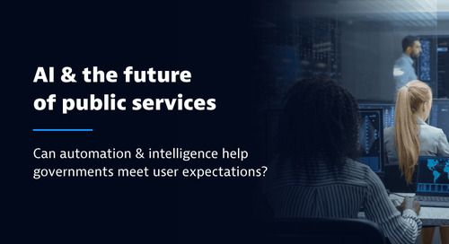 Why the public sector must move to automation & AI for cloud observability