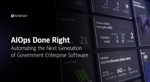 AIOps Done Right Automating the Next Generation of Government Enterprise Software