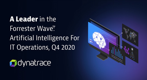 The Forrester Wave™: Artificial Intelligence For IT Operations, Q4 2020