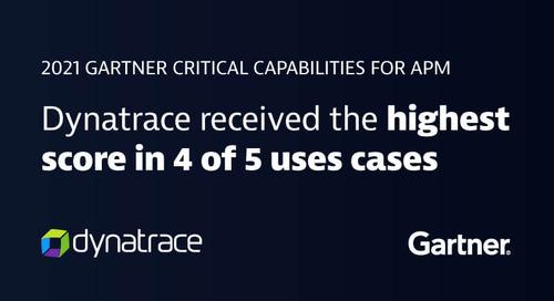 2021 Gartner Critical Capabilities for Application Performance Monitoring
