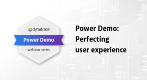 Power Demo: Perfecting User Experience