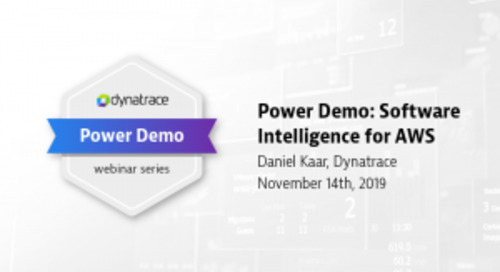Power Demo: Software Intelligence for AWS