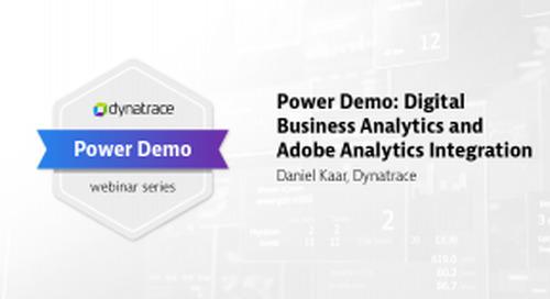 Power Demo: Digital Business Analytics and Adobe Analytics Integration