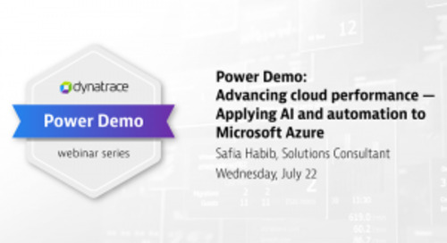 Power Demo: Advancing cloud performance: Applying AI and automation to Microsoft Azure
