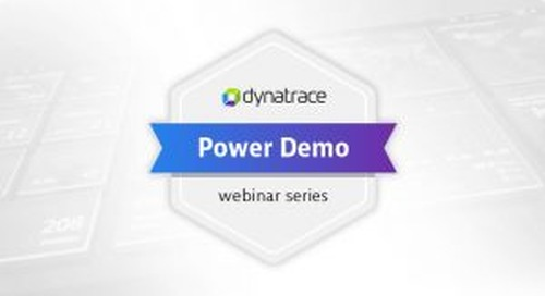 Power Demo: Advanced Observability for Kubernetes Infrastructure and Microservices