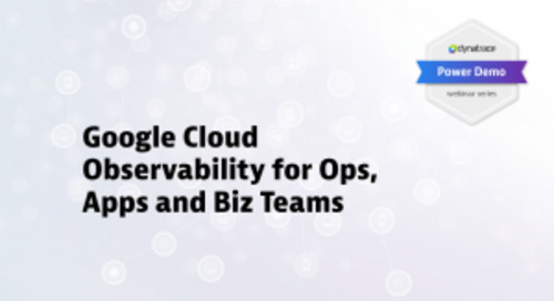 Power Demo: Google Cloud Observability for Ops, Apps, and Biz Teams