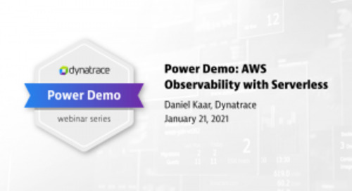 Power Demo: AWS Observability with Serverless