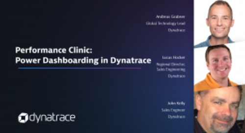 Performance Clinic: Power Dashboarding in Dynatrace