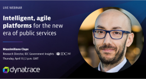 Intelligent, agile platforms for the new era of public services