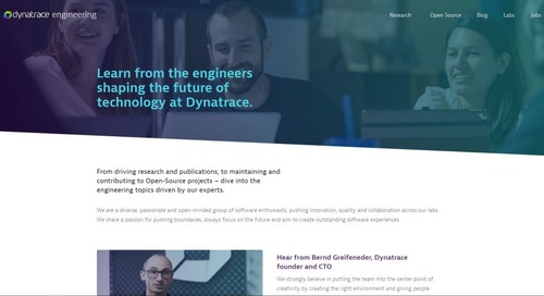 Showcasing engineering excellence at Dynatrace