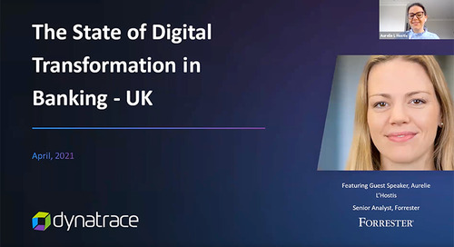 The state of digital transformation in Banking in the UK: Four Questions with Forrester Analyst