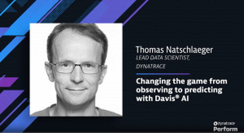 Changing the game to predictive AIOps with Davis™