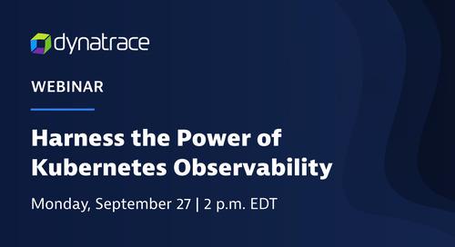 Webinar: Harness the Power of Kubernetes Observability