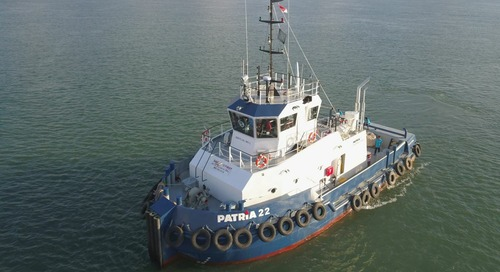 Riviera - News Content Hub - First new-generation inland tug delivered - Riviera Maritime Media