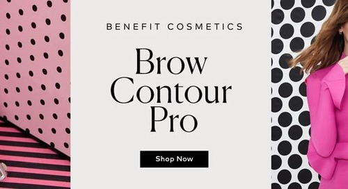 Benefit's Brow Contour Pro Delivers Instagram-Worthy Eyebrows