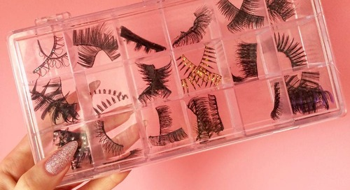 Beauty Hacks: How To Store False Lashes