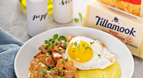 Recipe: Shrimp and Barbecue Cheddar Grits