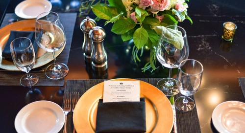 Ten Of Us Dinner Series At Del Frisco's Double Eagle Steak House