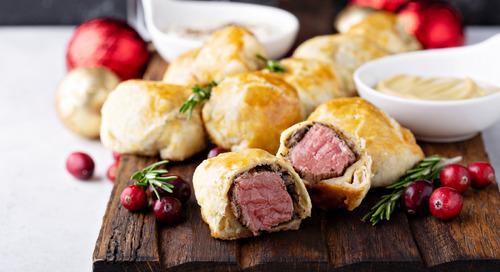 Recipe: Mini Beef Wellington with Creamy Horseradish Sauce