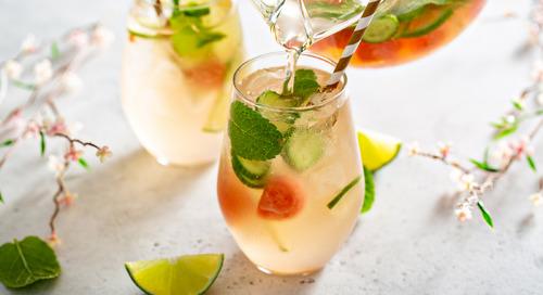 Recipe: Cucumber-Watermelon Sangria