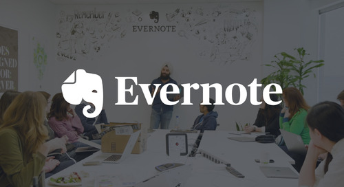 Evernote Cuts Employee Provisioning Time by 30%