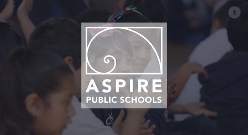 Customer Spotlight: Aspire Schools