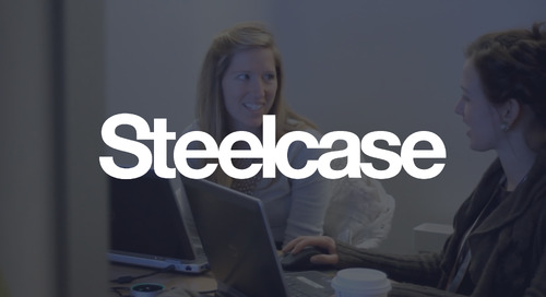 Steelcase uses one easy way to authenticate users