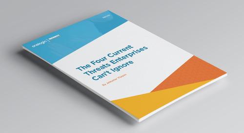 Four current cyberthreats that enterprises can't ignore