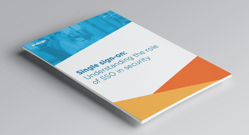 Single sign-on: Understanding the role of SSO in security