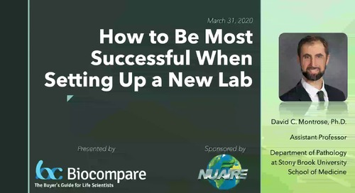 [Webinar] How to be Most Successful When Setting Up a New Lab