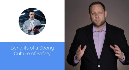 2 Minute Demo: Focus on Safety Culture