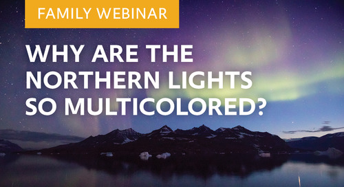 Webinar: Why are the Northern Lights so Multicolored?   Babak Tafreshi