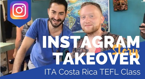 Day in the Life of our Costa Rica TEFL Class with Brooke Novak